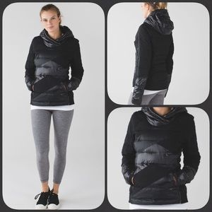 Lululemon Down Right Cozy Pullover Black 4